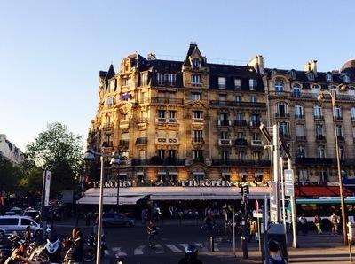 パリのリヨン駅 駅前.jpg