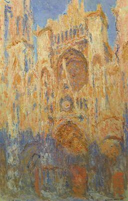 ルーアン大聖堂 モネ.JPG