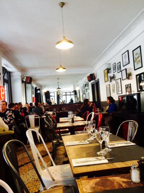 ブローニュのレストラン